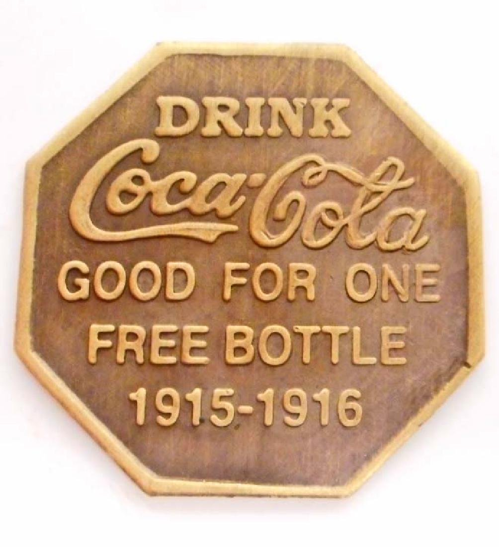COCA COLA ADVERTISING TOKEN