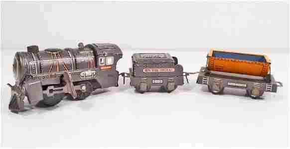 VINTAGE TIN LITHO WIND-UP TOY TRAIN - NEW YORK CENTRAL