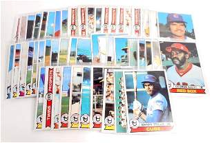 LOT OF 49 1979 TOPPS 2ND SERIES BASEBALL CARDS