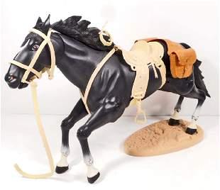 VINTAGE1950S LONE RANGER TOY HORSE W SADDLE