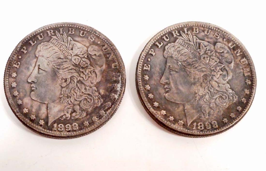 MORAN SILVER DOLLAR 2 SIDED NOVELTY COIN