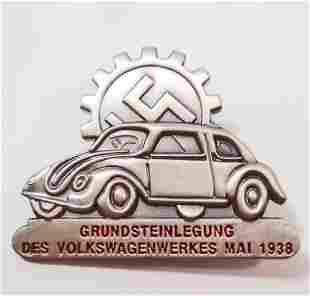 GERMAN 1938 VOLKSWAGON VW GROUND BREAKING PLANT WORKS