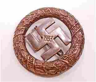 GERMAN NAZI GAU MUNICH 9TH NOVEMBER 1923 COMMEMORATIVE