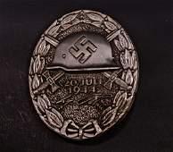 GERMAN NAZI SILVER JULY 20 1944 WOUND BADGE