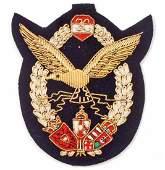 IMPERIAL GERMAN AUSTRIAN AERO AVIATOR PILOT BADGE IN
