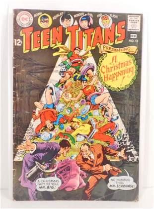 1968 TEEN TITANS NO. 13 COMIC BOOK - 12 CENT COVER - G+