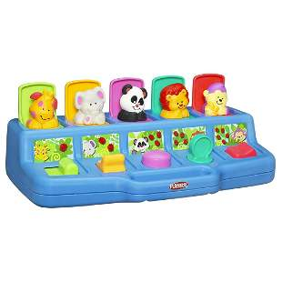 Playskool Poppin Pals Popup Activity Toy for Babies