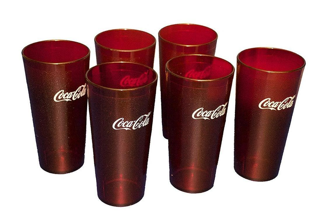 Set of 6 Coca-Cola Cups