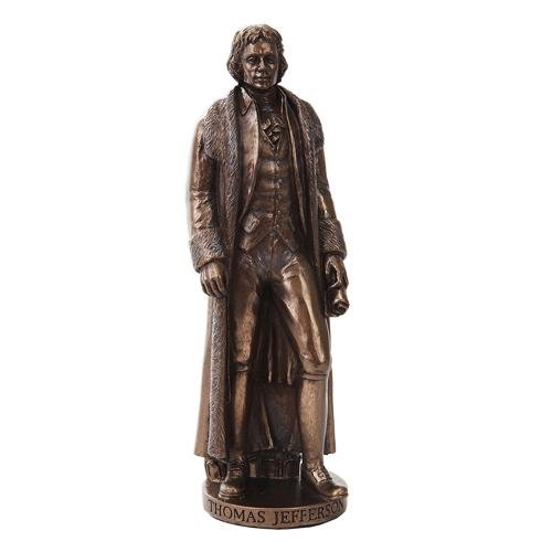 THOMAS JEFFERSON CAST BRONZE STATUE