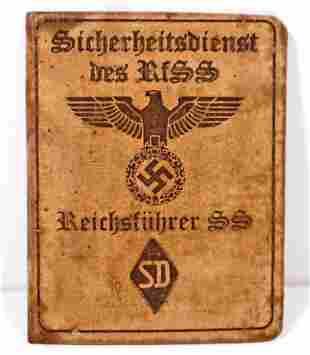 GERMAN NAZI WAFFEN REICHSFUHRER SS SD SOLDIER