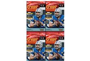 2019 Score NFL Football Collection of FOUR4 Factory