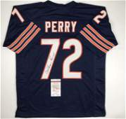 Autographed/Signed William Perry The Refrigerator