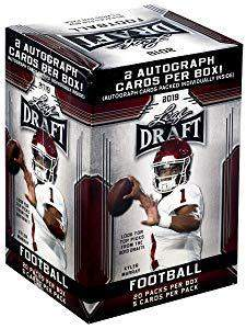 2019 LEAF NFL DRAFT Series Factory Sealed Blaster Box