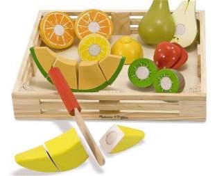 Melissa Doug Cutting Fruit Set