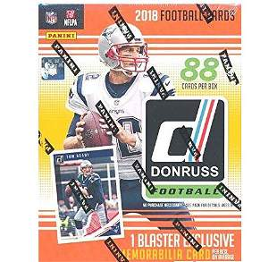 2018 Donruss NFL Football EXCLUSIVE HUGE Factory Sealed