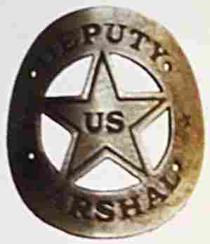 DEPUTY US MARSHAL GUN BUTT TAG