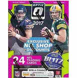 2017 Donruss Optic NFL Football EXCLUSIVE Factory