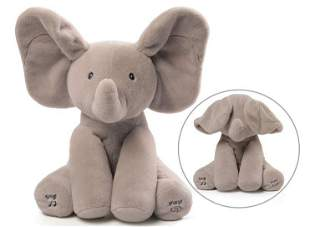 GUND Baby Animated Flappy The Elephant Stuffed Animal
