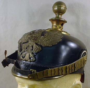 233: IMPERIAL GERMAN ARTILLERY OFFICERS PICKELHAUBE HEL