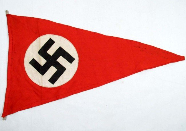 24: WW2 GERMAN NAZI POLITICAL NSDAP SA VEHICLE STAFF C