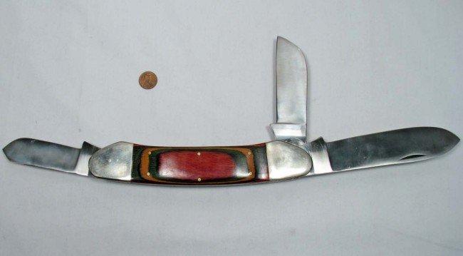 302: VINTAGE SALESMAN'S SAMPLE POCKET KNIFE - Approx. 8