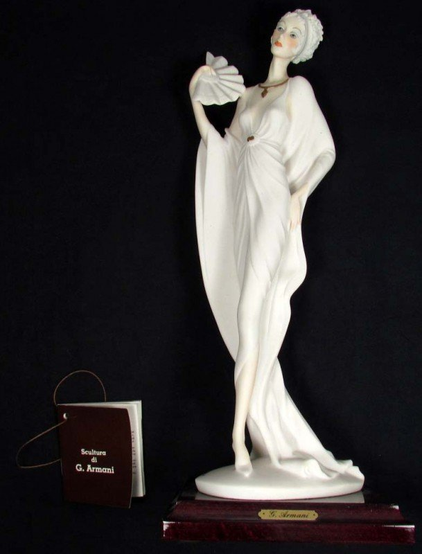 6: 1989 G. ARMANI FLORENCE FIGURINE - ITALY - W/ TAG