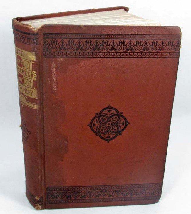 "2: 1896 ""LIFE AND SPEECHES OF WILLIAM MCKINLEY"" HARDCOV"