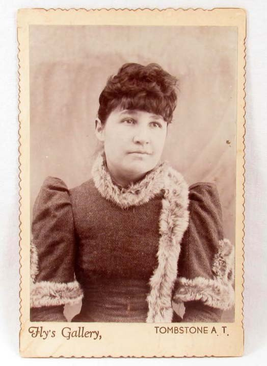 2: ANTIQUE CABINET CARD PHOTO FROM FLY'S GALLERY, TOMBS