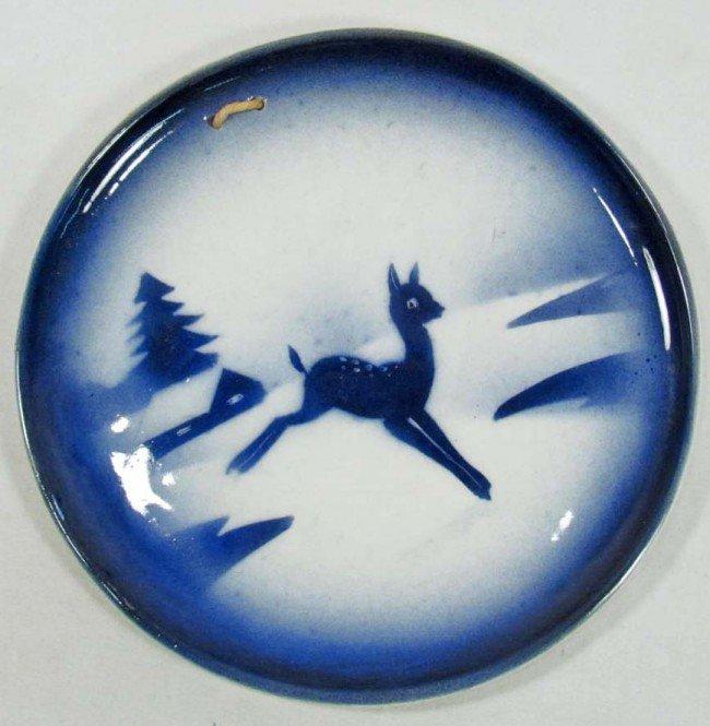 14: VINTAGE COPENHAGEN BLUE PLATE