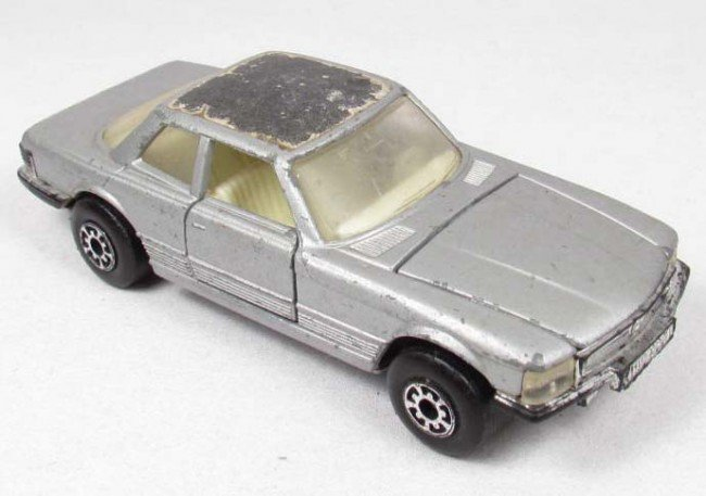 4: MATCHBOX SUPER KINGS 350 SLC MERCEDES DIE CAST TOY C