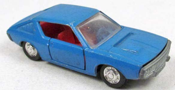 7: SCHUCO RENAULT 17 COUPE DIE CAST CAR
