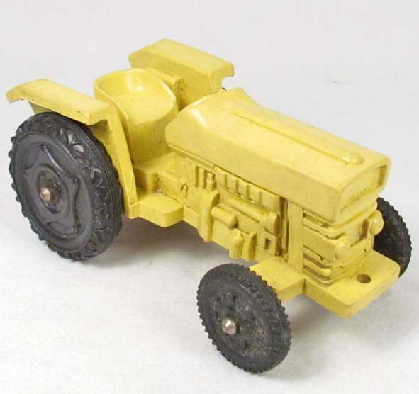 18: RUBBER TOY TRACTOR