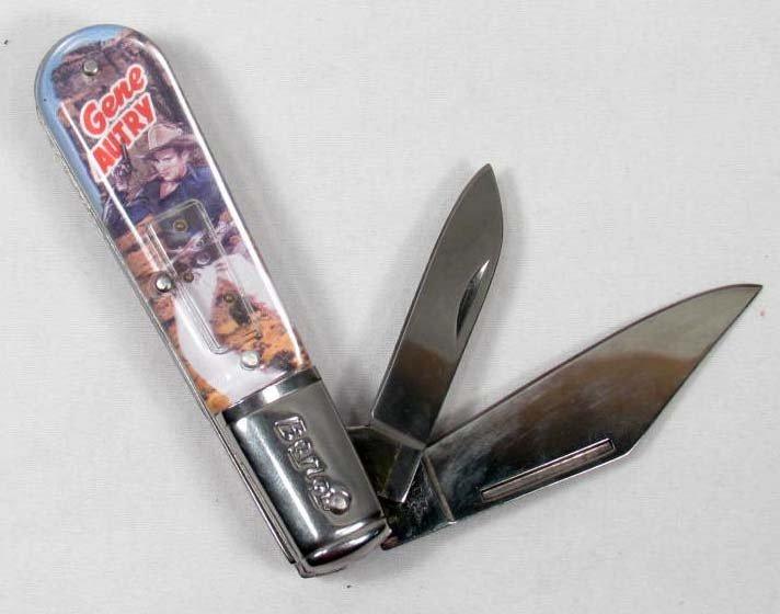 11: 1099 - BARLOW GENE AUTRY FOLDING KNIFE W/ DEXTERITY