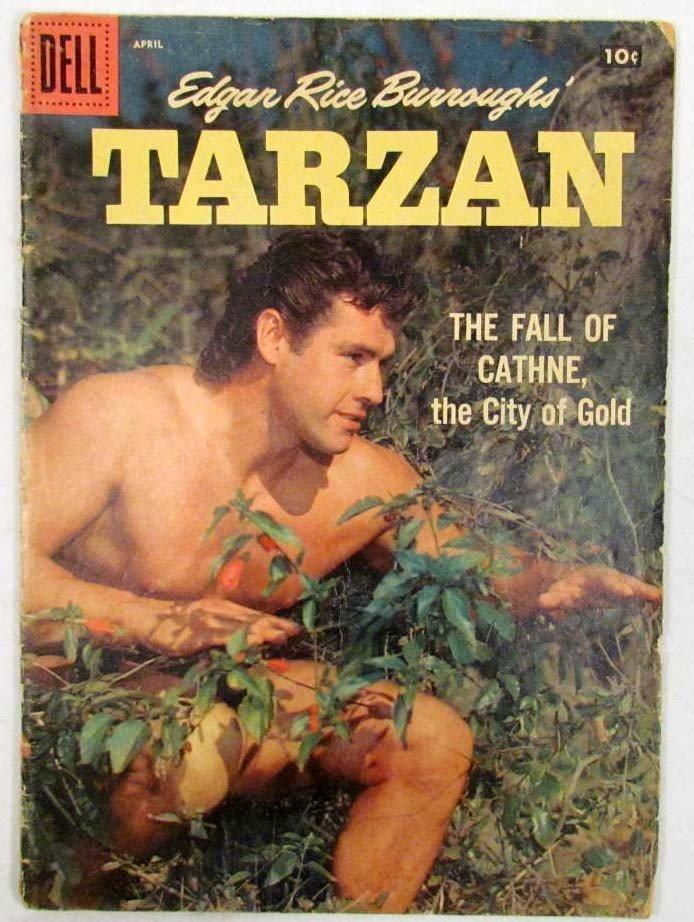 16: 1398 - 1958 DELL TARZAN NO. 103 COMIC BOOK W/ 10 CE