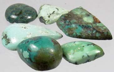 20: 912 - LOT OF 75.1 CTS. OF NATURAL TURQUOISE