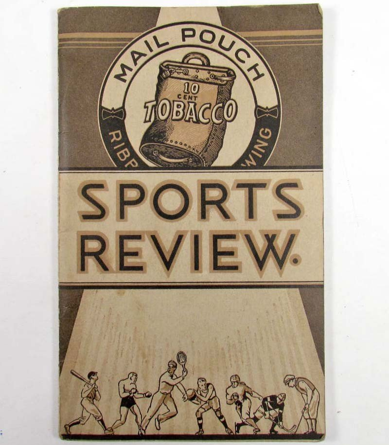 2: 1933 MAIL POUCH TOBACCO ADVERTISING SPORTS REVIEW BO