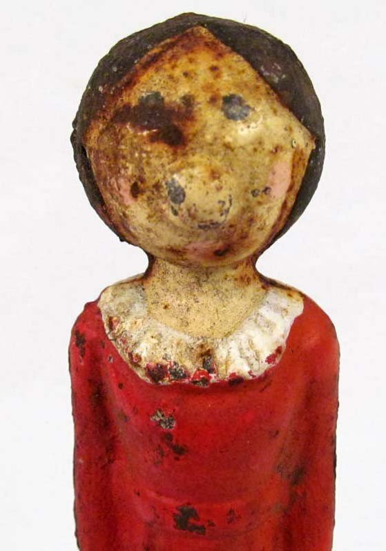 7: VINTAGE OLIVE OYL - POPEYE'S GIRL - CAST IRON DIME B
