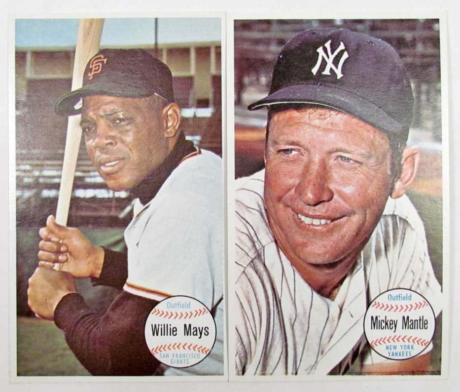21: LOT OF 2 1964 TOPPS GIANTS BASEBALL CARDS - MICKEY