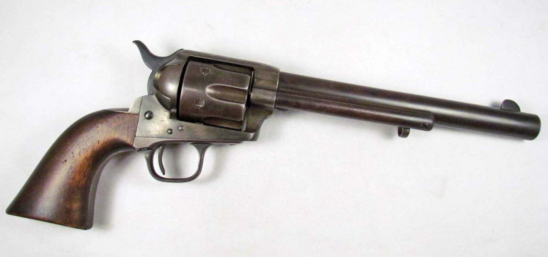114: RARE OLD WEST COLT SINGLE ACTION CAVALRY MARKED CO