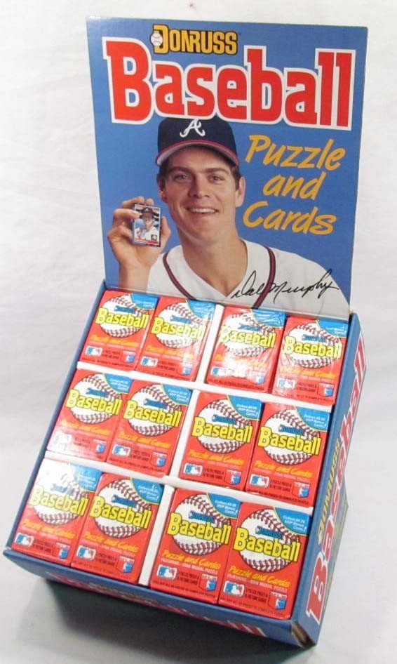 7: 1998 DONRUSS BASEBALL CARD STORE ADVERTISING DISPLAY