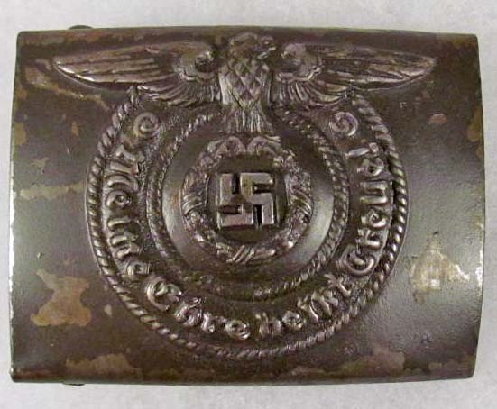 17: GERMAN NAZI WAFFEN SS BELT BUCKLE FOR AN ENLISTED M