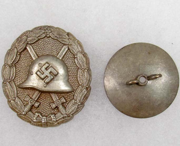 11: GERMAN NAZI SILVER CONDOR LEGION WOUND BADGE