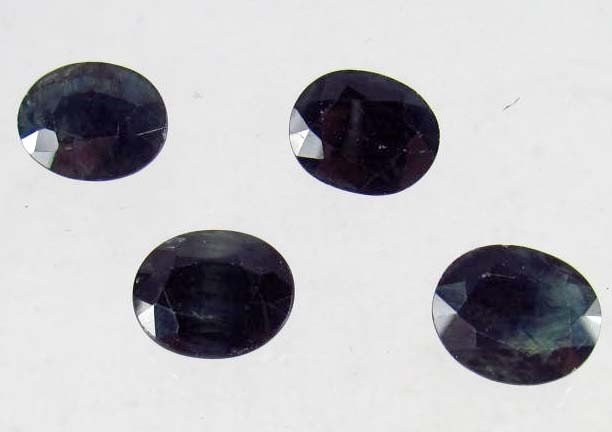23: LOT OF 20.46 CTS. BLUE SAPPHIRES