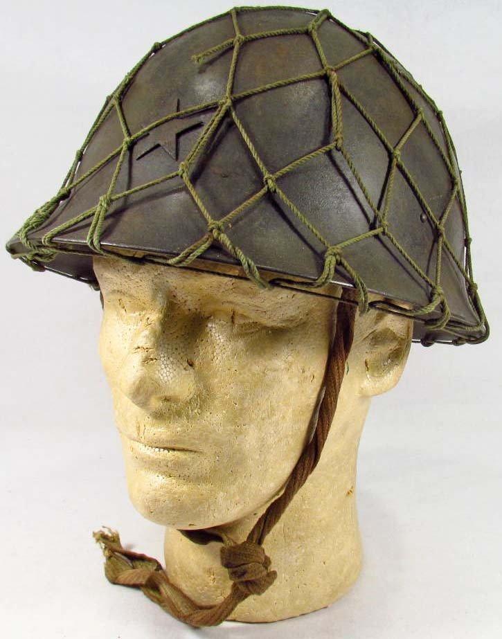 135: JAPANESE ARMY MILITARY COMBAT HELMET