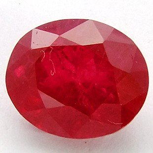 1: 7.28 CT RED SAPPHIRE