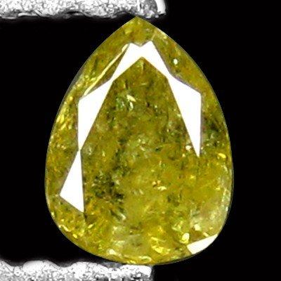 18: 0.27 CT UNHEATED FANCY GREEN DIAMOND
