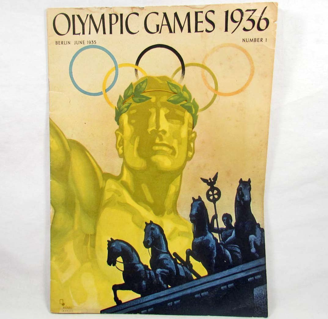 "354: BERLIN 1935 ""OLYMPIC GAMES 1936"" MAGAZINE - NUMBER"