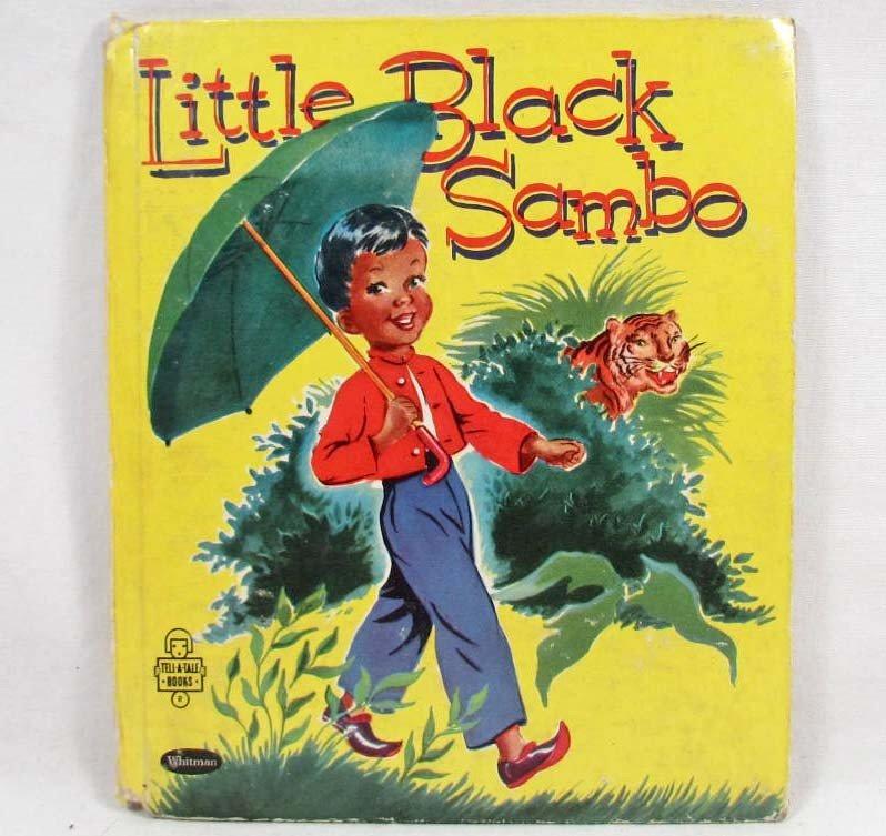 "414: 1953 ""LITTLE BLACK SAMBO"" WHITMAN TELL-A-TALE BOOK"