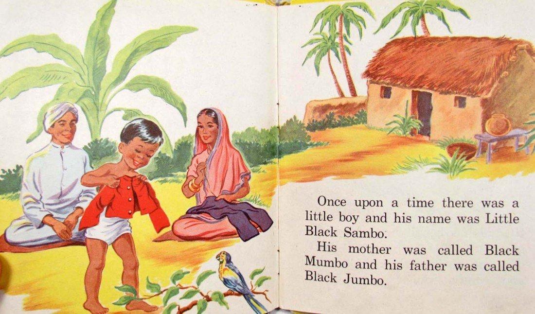 "414: 1953 ""LITTLE BLACK SAMBO"" WHITMAN TELL-A-TALE BOOK - 2"