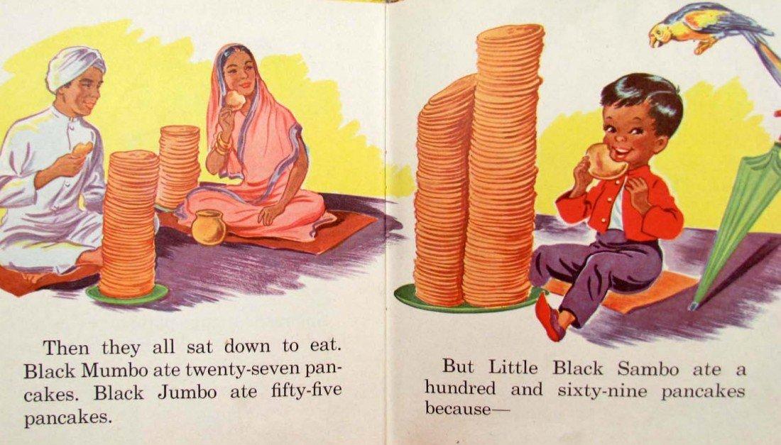 "414: 1953 ""LITTLE BLACK SAMBO"" WHITMAN TELL-A-TALE BOOK - 5"